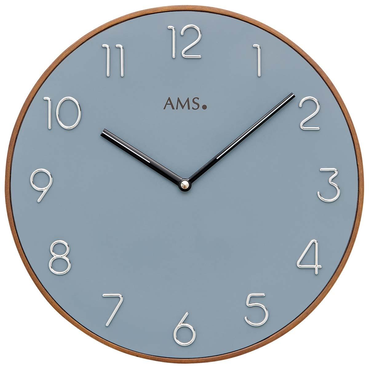 Uhren | Chrono12 - AMS 9564 Wanduhr modern - Serie: AMS Design