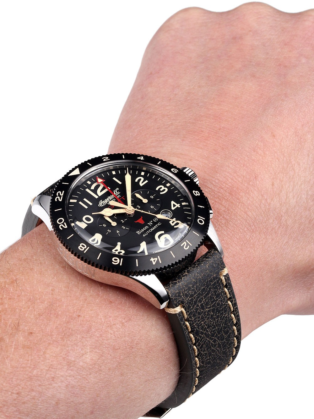 custom automatic watch watches product kobold gmt soarway diver
