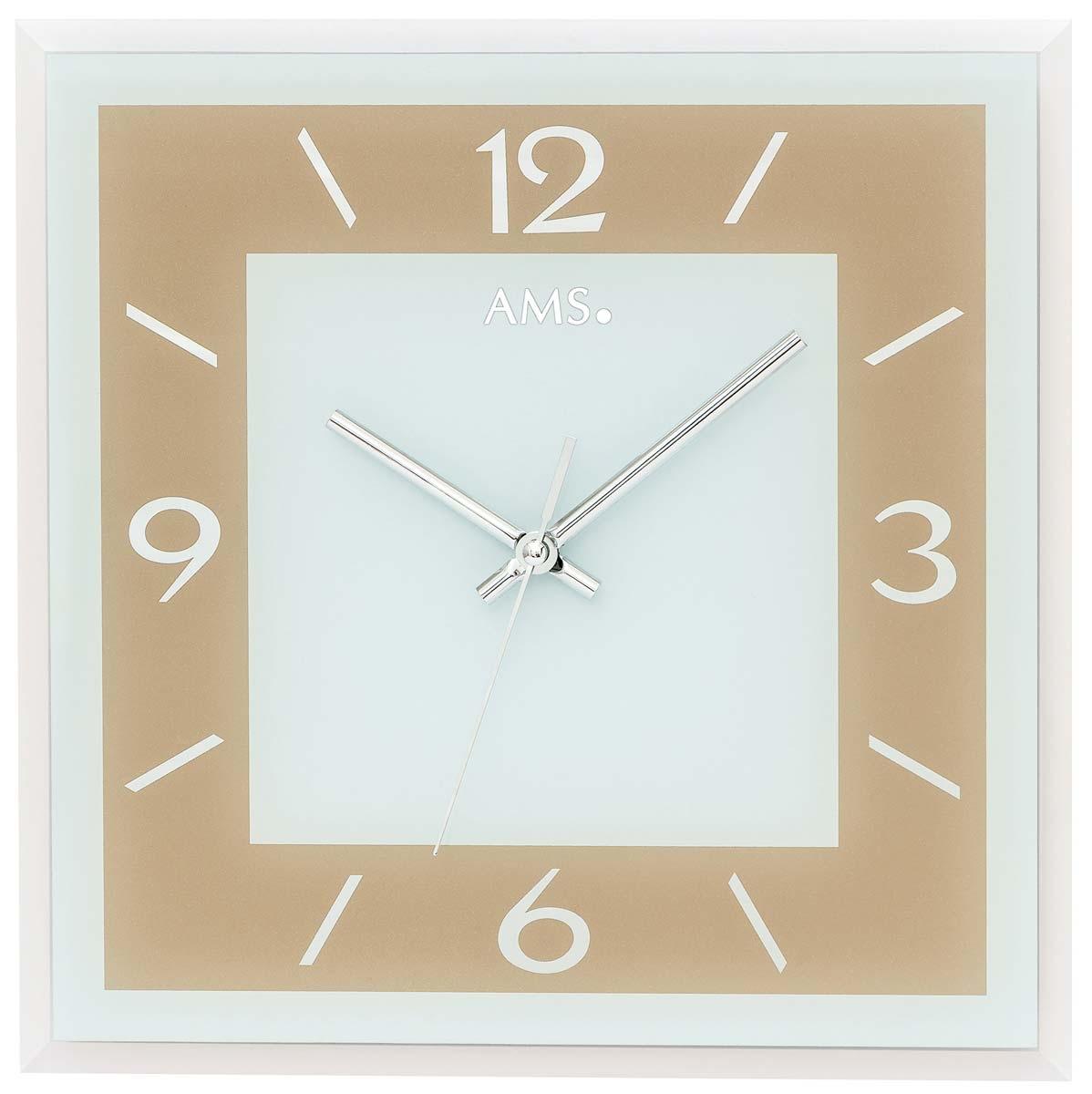Watches: AMS 9574 Wanduhr Modern   Serie: AMS Design