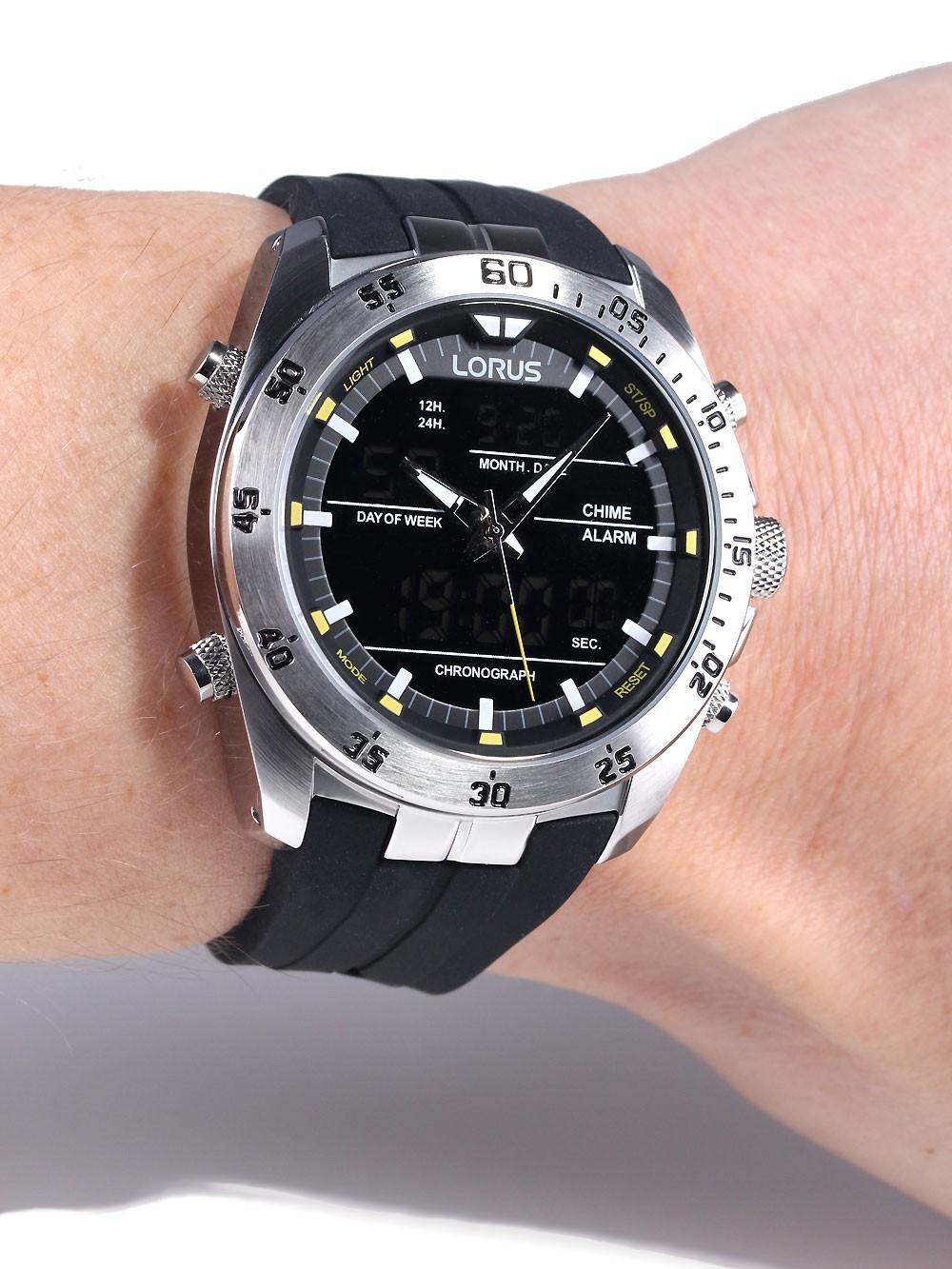 e2d6c9693 Watches | Chrono12 - Lorus RW619AX9 Analog-Digital Alarm Chronograph ...