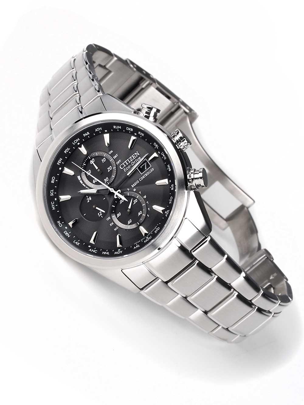 Watches  Citizen Eco-Drive AT8011-55E Herren Chrono Funkuhr Saphir 4e42ba8603