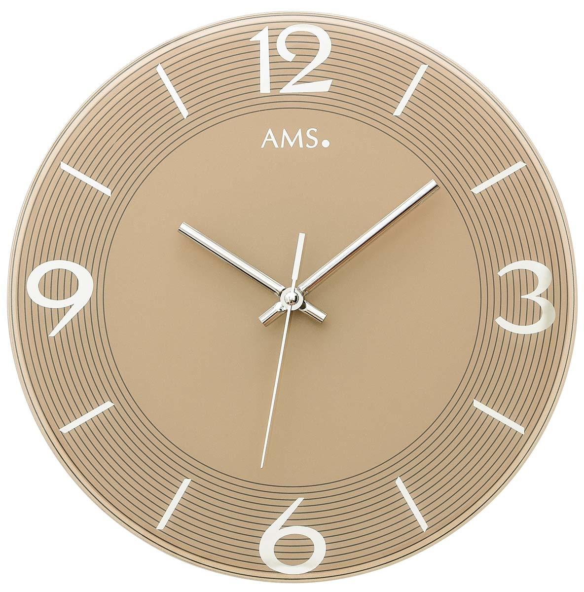 Gut Watches: AMS 9572 Wanduhr Modern   Serie: AMS Design