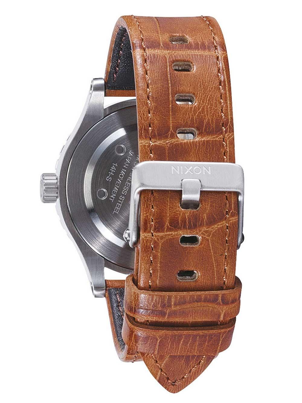 UhrenChrono12 Gator 38 1888 A467 Nixon 20 Saddle 20atm Leather 38mm rdtosQxBhC