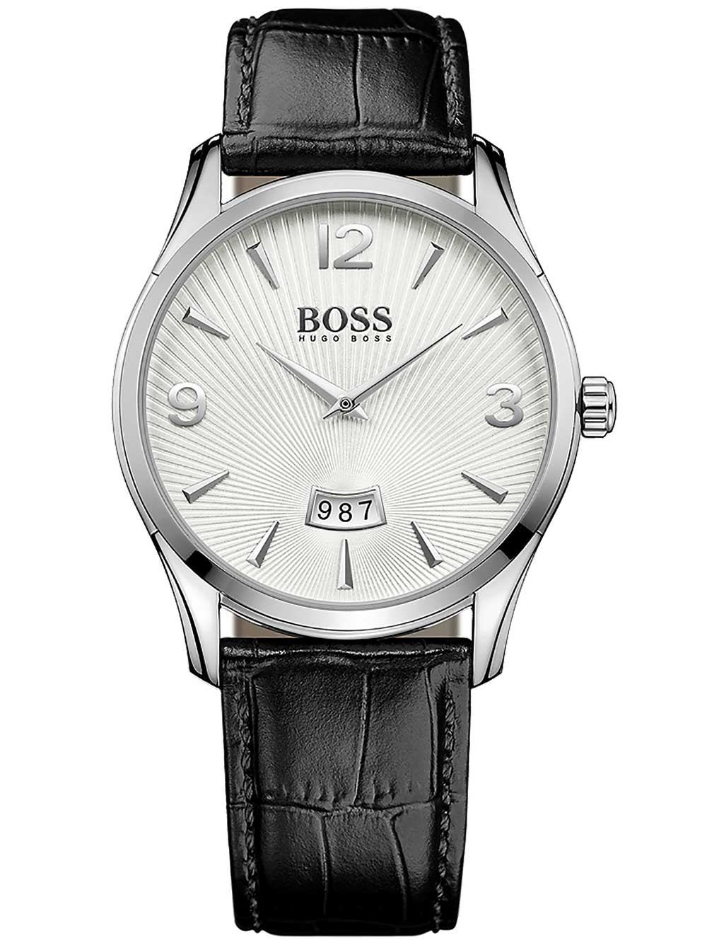 ceas barbatesc hugo boss 1513449 commander 41mm 3atm