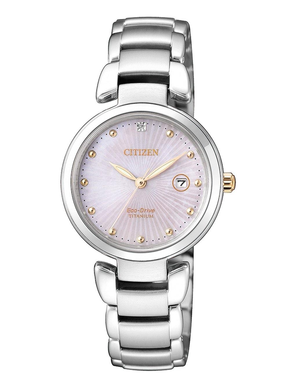 ceas de dama citizen ew2506-81y titan 29mm 5atm