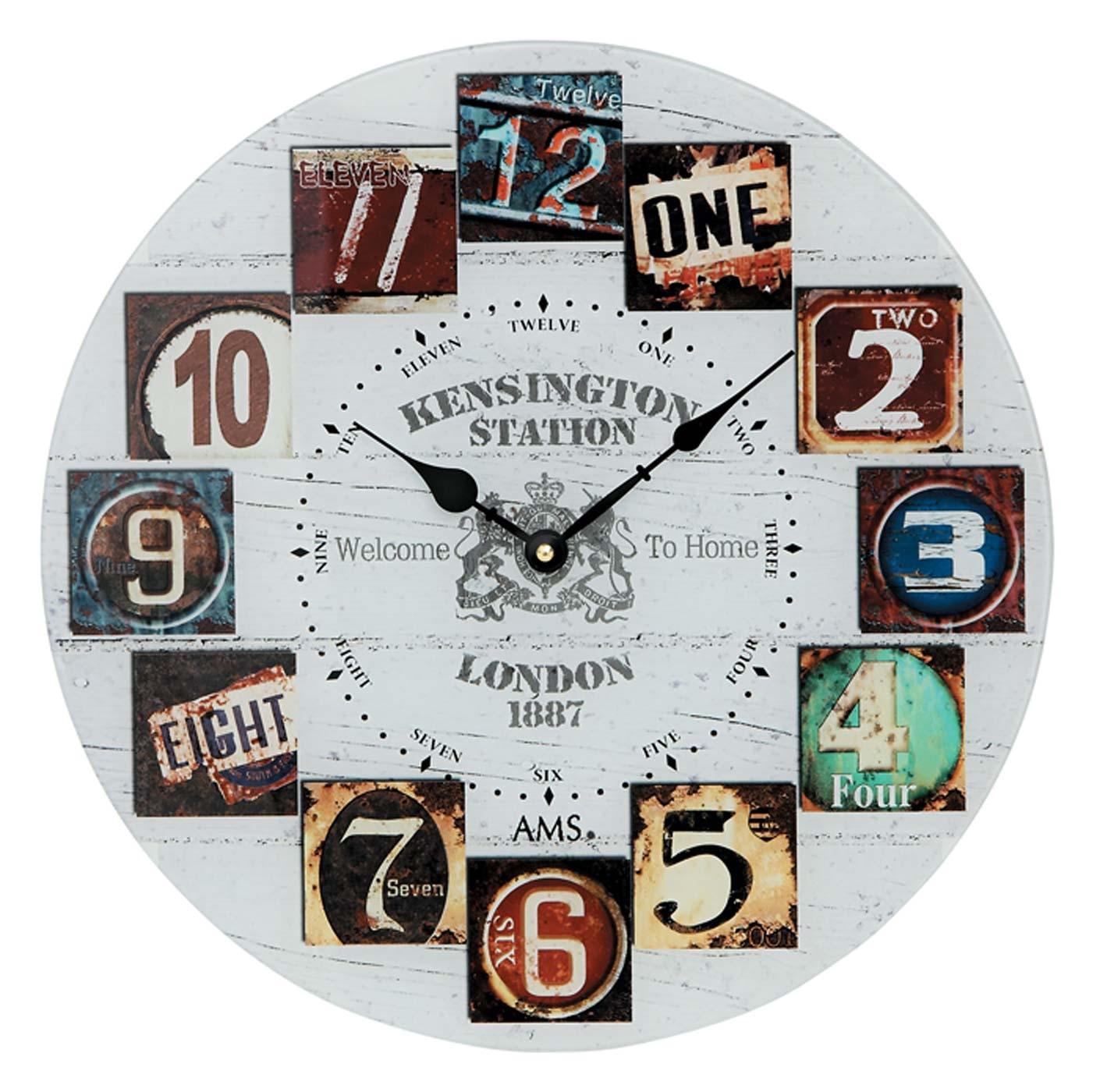watches chrono12 ams 9470 wanduhr modern serie ams. Black Bedroom Furniture Sets. Home Design Ideas