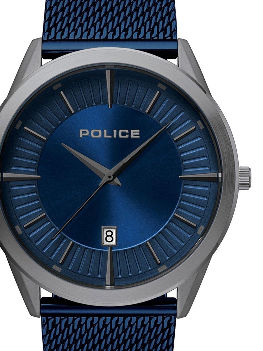 ceas barbatesc police pl15305jsu.03mm partiot 45mm 5atm