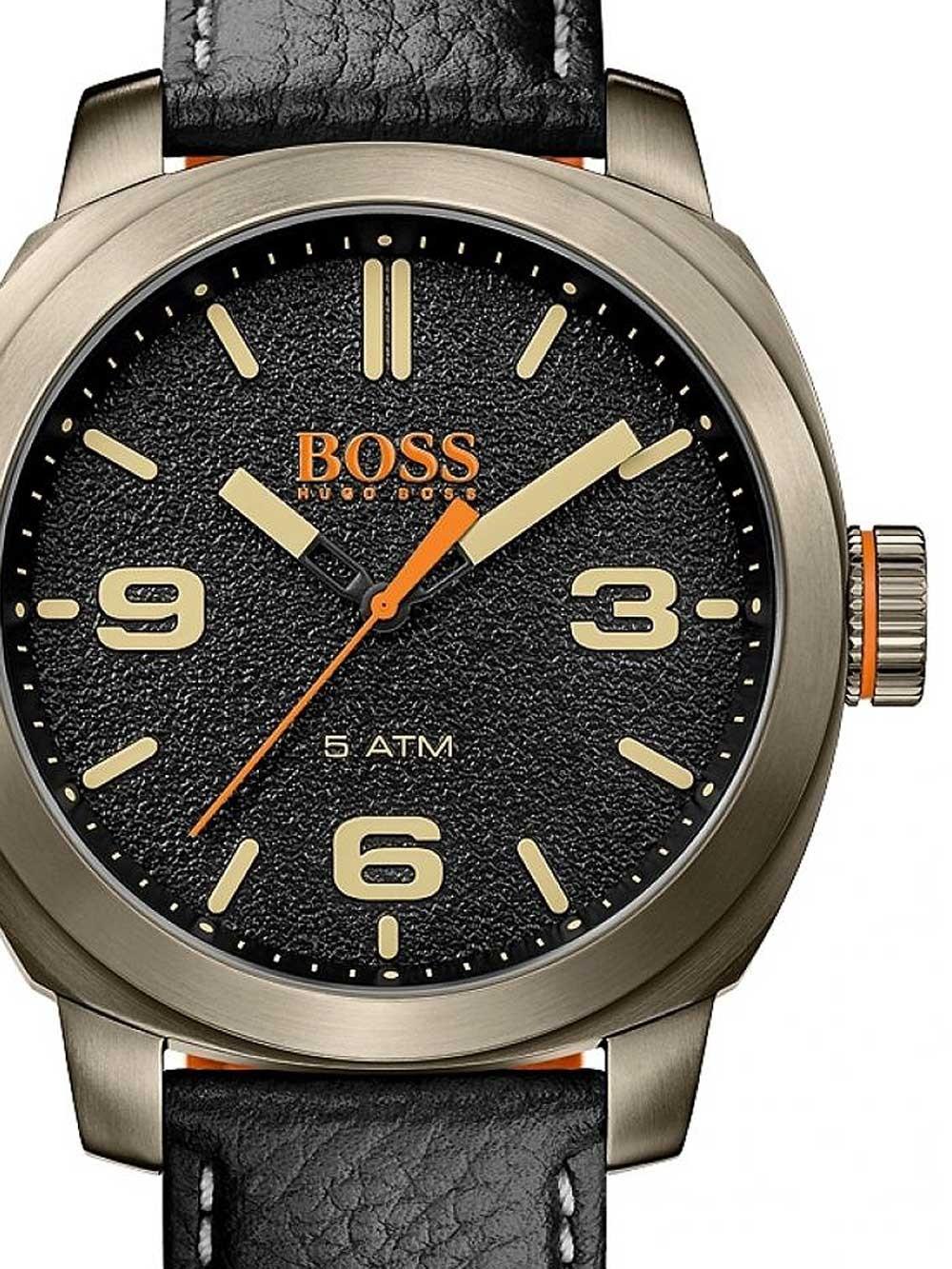 ceas barbatesc boss orange 1513409 cape town 45mm 5atm