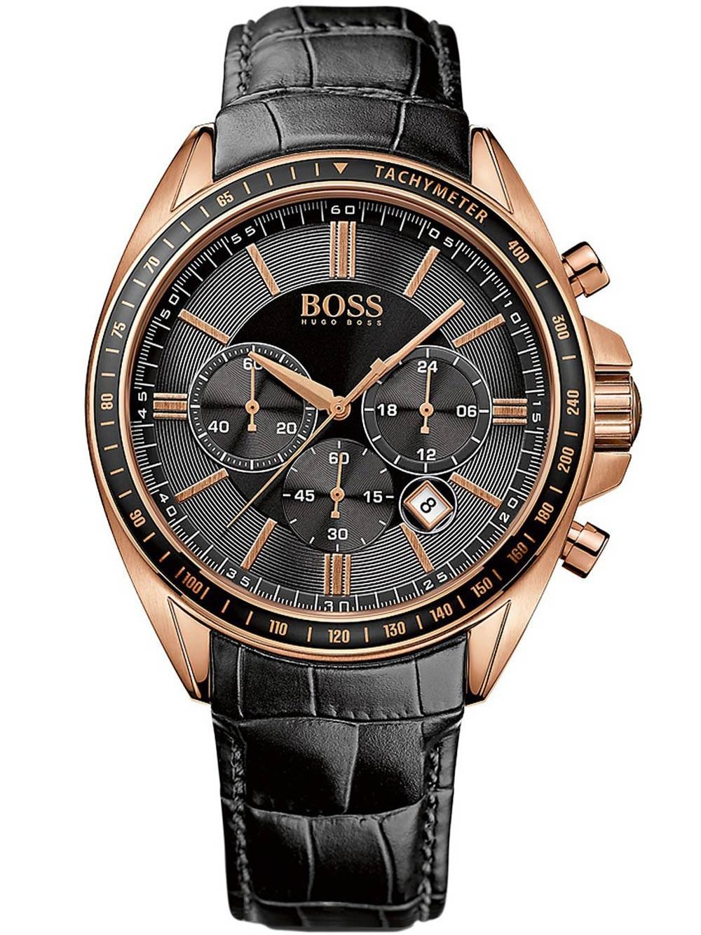ceas barbatesc hugo boss 1513092 44 mm 5atm