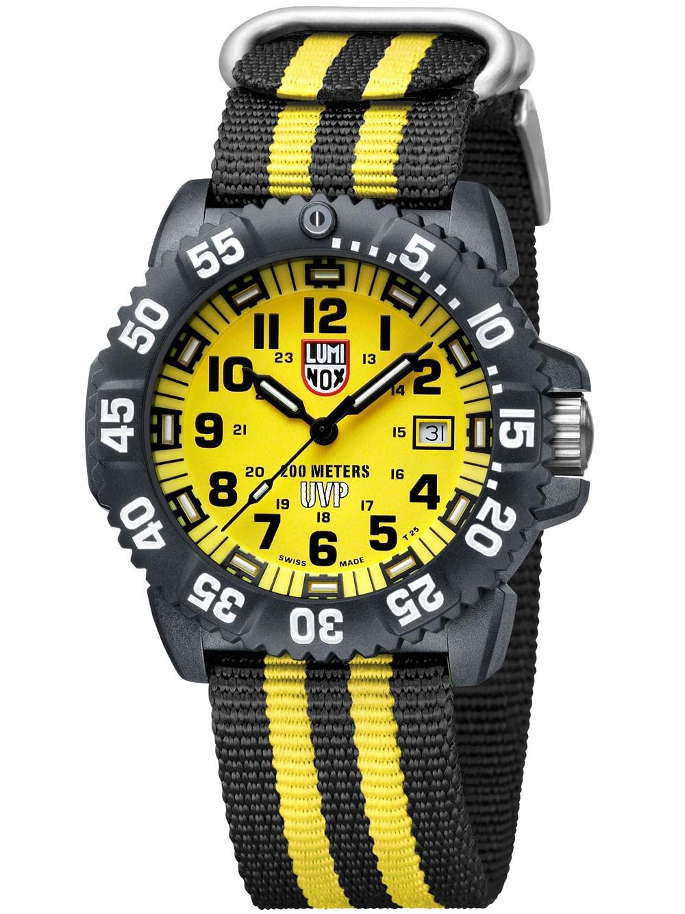 ceas barbatesc luminox a.3955.set navy seal colormark 3050 series scott cassell 20atm 44mm