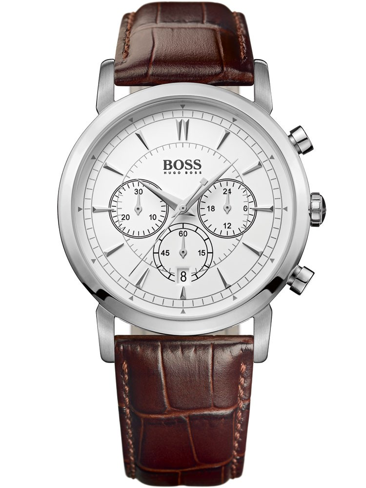 ceas barbatesc hugo boss 1512871 cronograf , 3 atm 42 mm