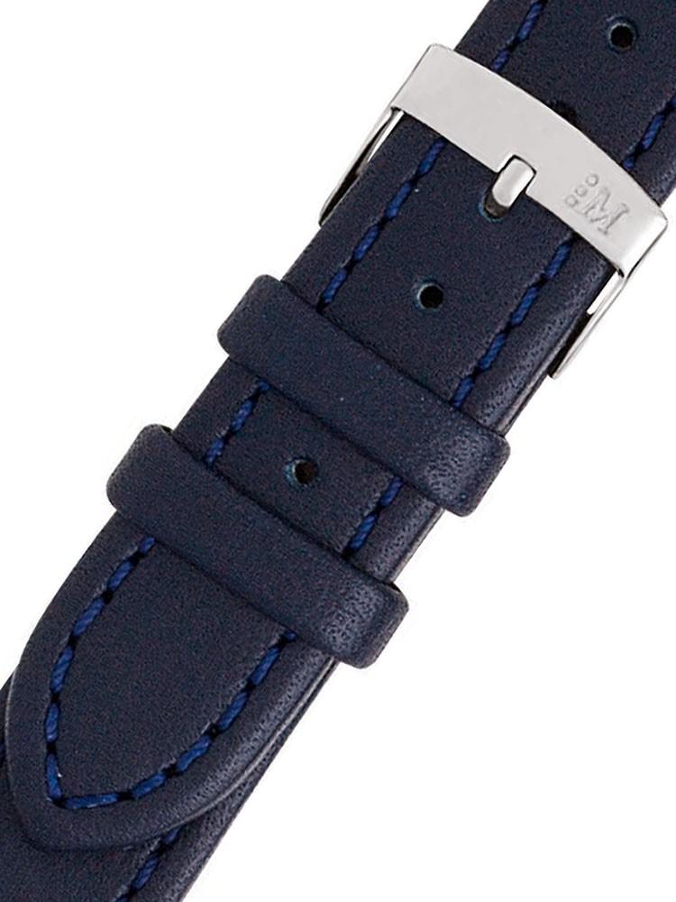 Curea de ceas Morellato A01K3151237062CR22 blaues XL Uhren22mm