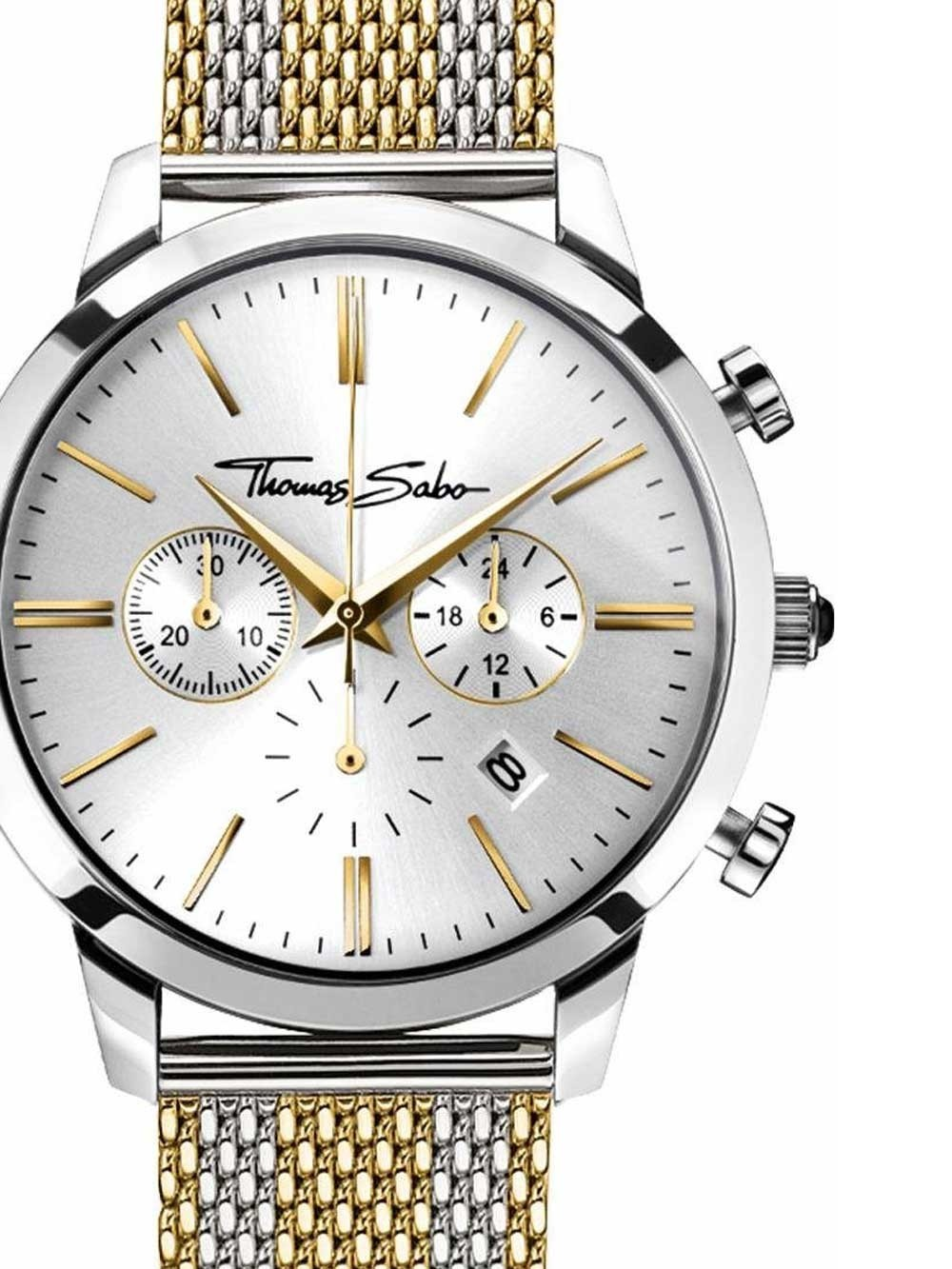 ceas barbati thomas sabo wa0286-282-201 rebel spirit chrono 42mm 5atm
