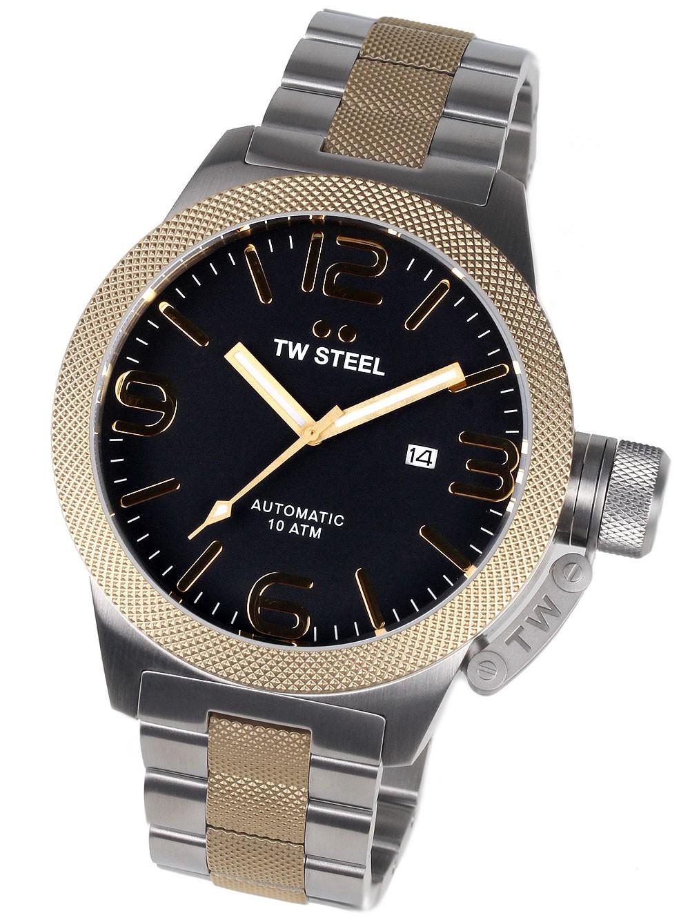 ceas barbatesc tw-steel cb46 canteen bracelet 50mm 10atm