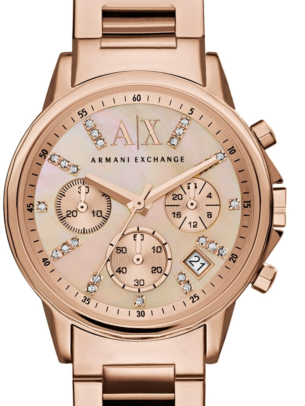 ceas de dama armani exchange ax4326 banks chrono. 36mm 5atm