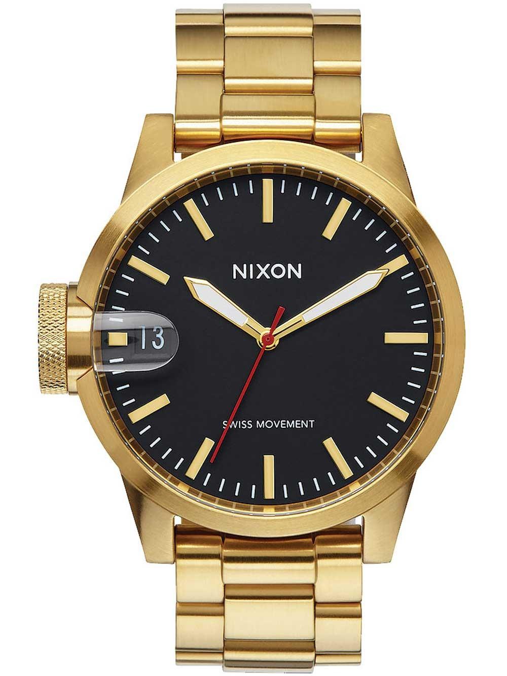 ceas barbatesc nixon a441-510 chronicle 44 44mm 10atm