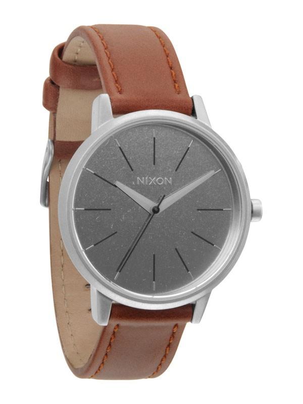 ceas de dama nixon kensington leather a-108-747