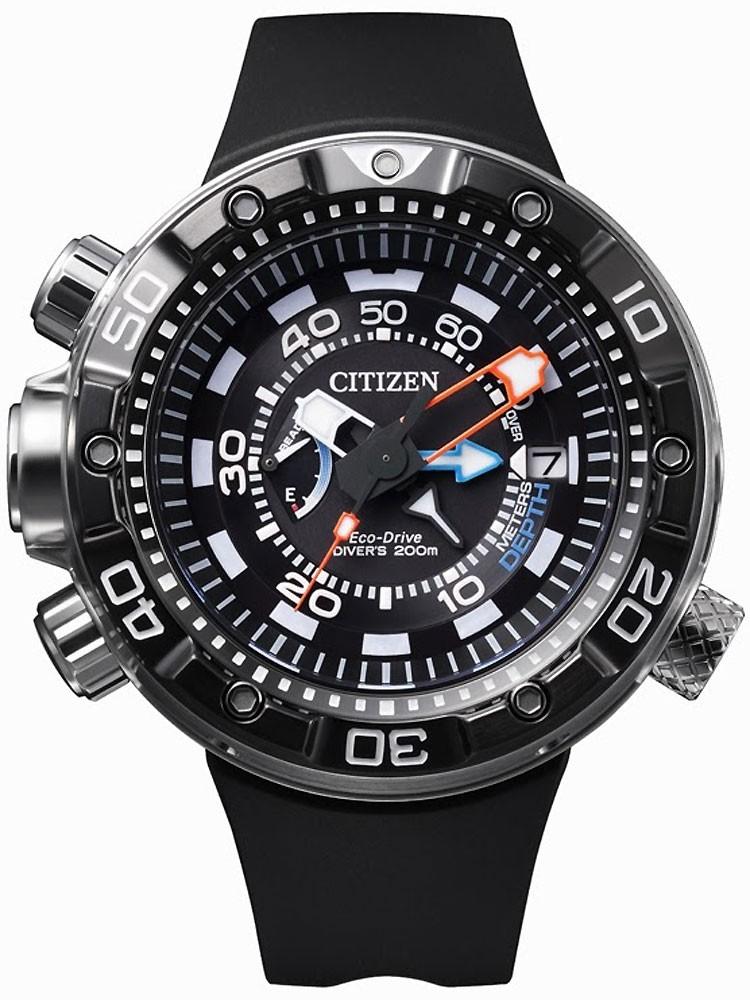 ceas barbatesc citizen promaster marine bn2024-05e 49 mm 20 atm