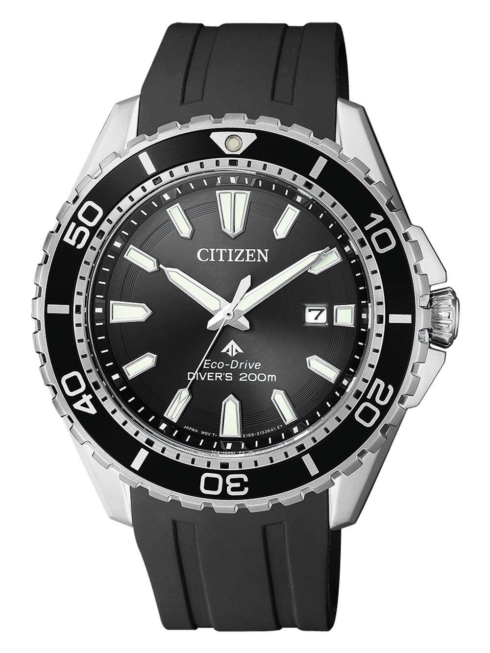 ceas barbatesc citizen bn0190-15e promaster diver 44mm 20atm