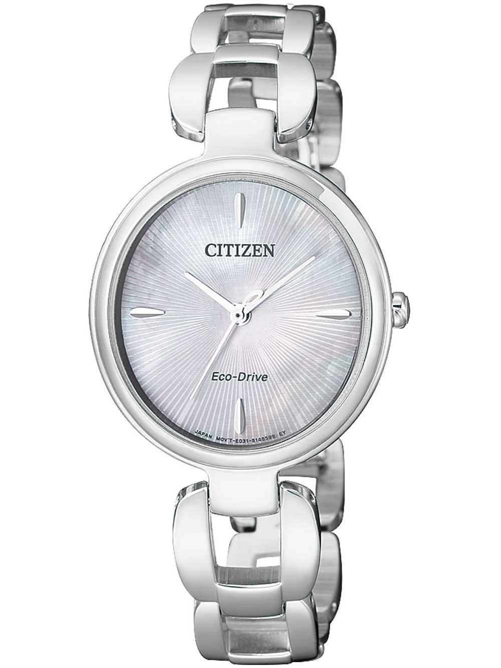 ceas de dama citizen em0420-89d eco-drive 28mm 5atm