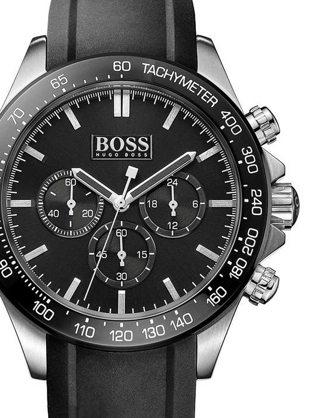 ceas barbatesc hugo boss 1513341 ikon chrono 44mm 10atm