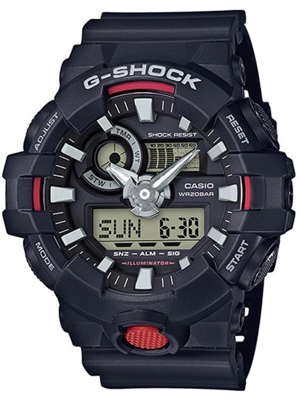 ceas barbatesc casio ga-700-1aer g-shock 53mm 20atm