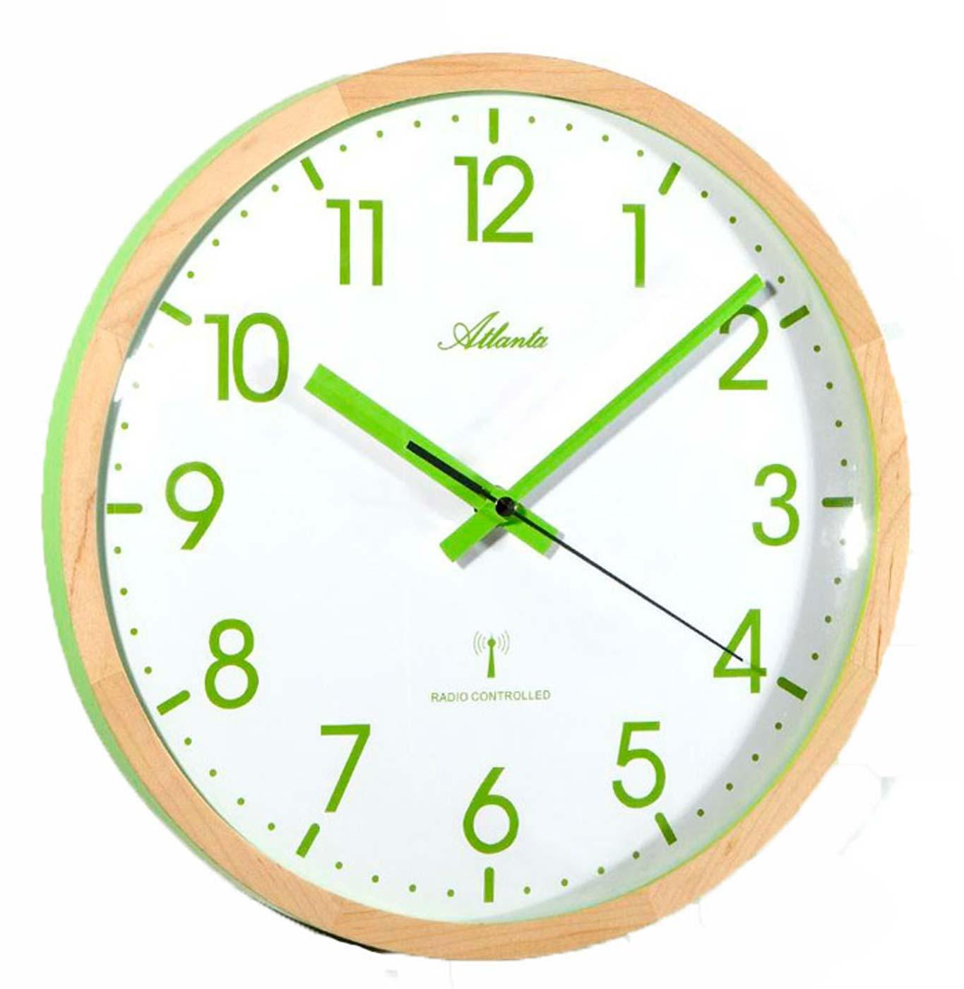 ceas de perete atlanta 4395/6 radio controlat