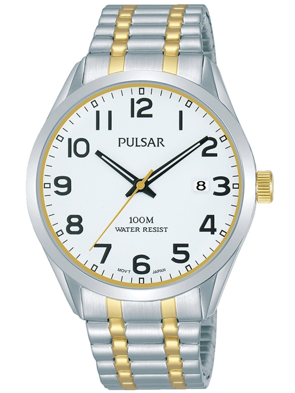 ceas barbatesc pulsar ps9565x1 klassik 39mm 10atm