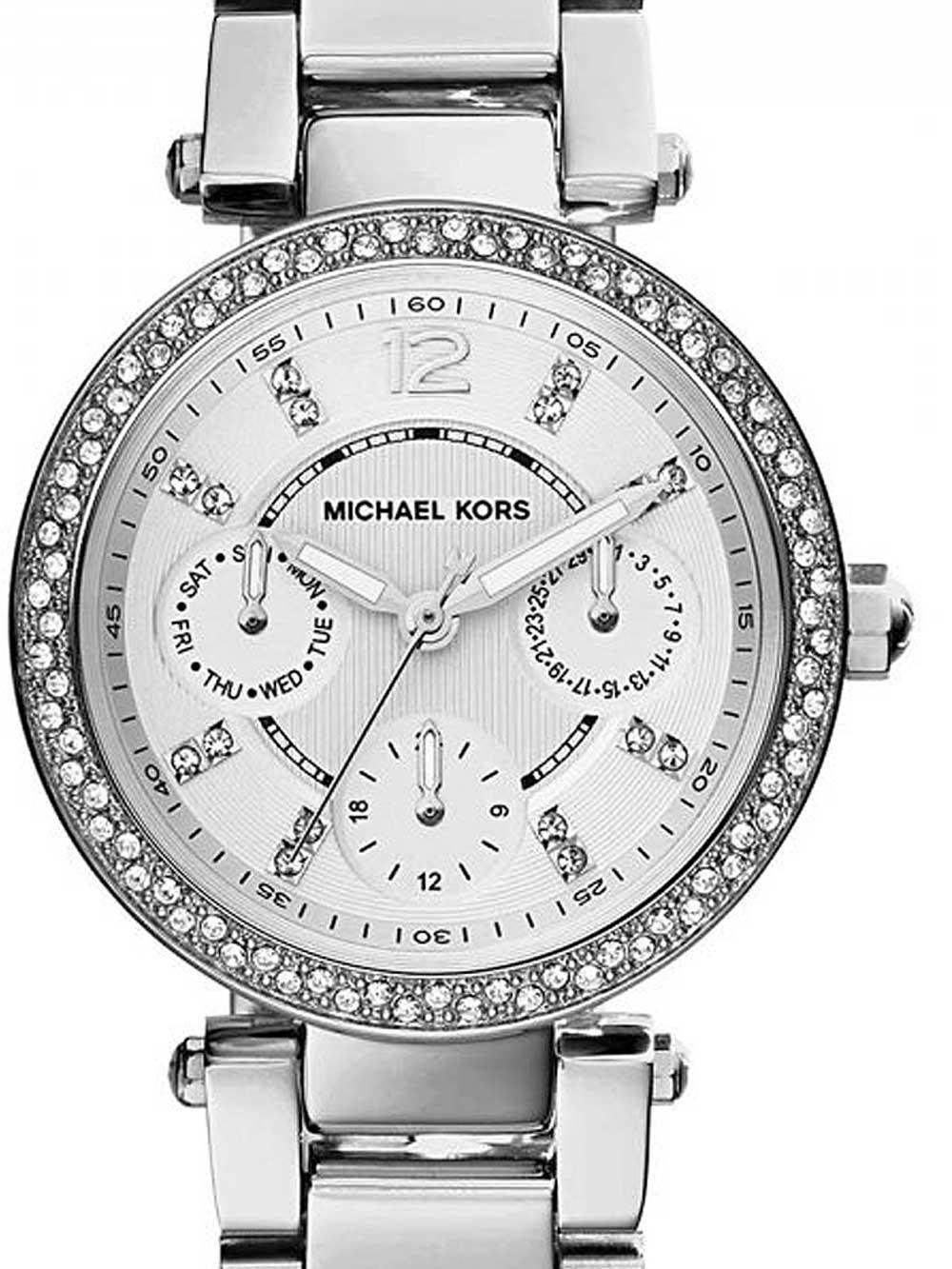 ceas de dama michael kors mk5615 mini parker 33mm 10atm
