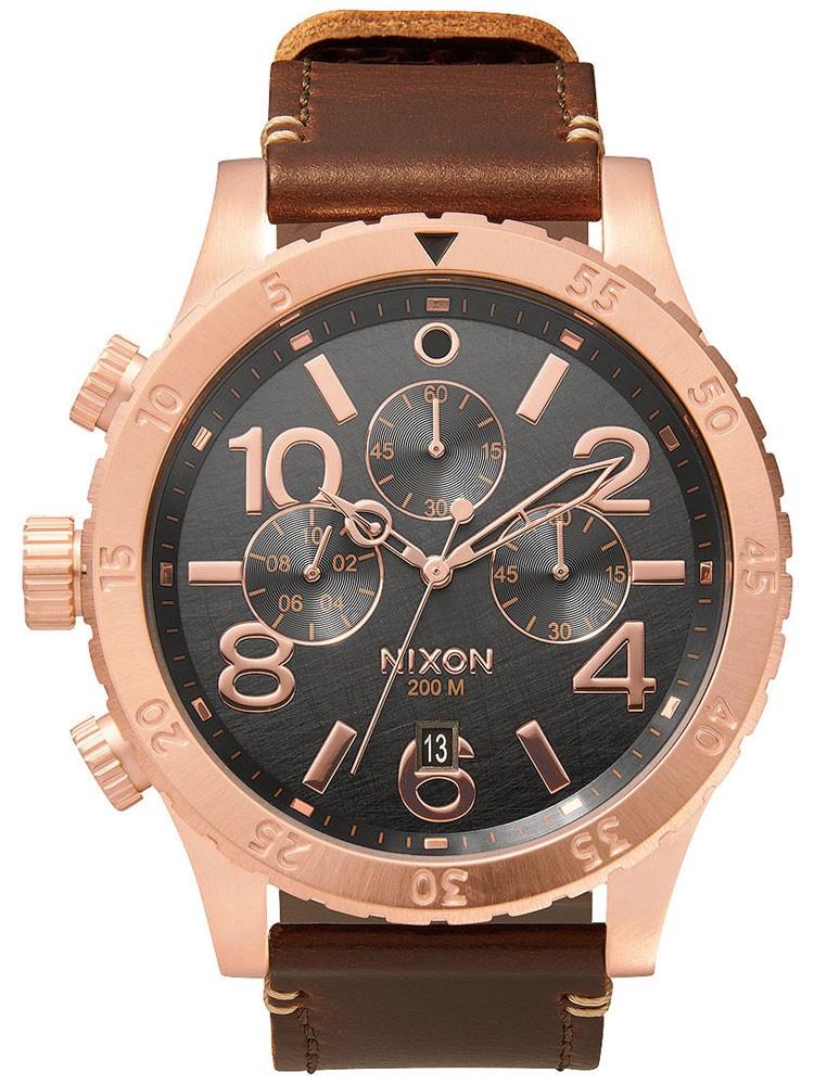 ceas barbatesc nixon a363-2001 48-20 chrono 48mm 20atm