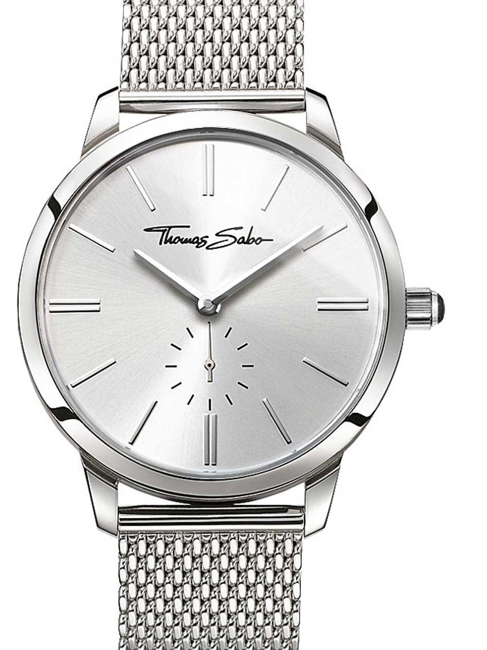 ceas de dama thomas sabo wa0248-201-201 glam spirit 33mm 5atm