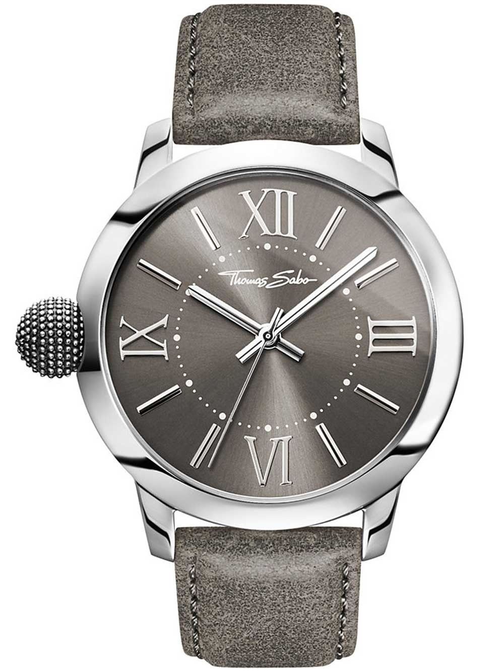 ceas barbati thomas sabo wa0294-273-210 rebel with karma 46mm 10atm