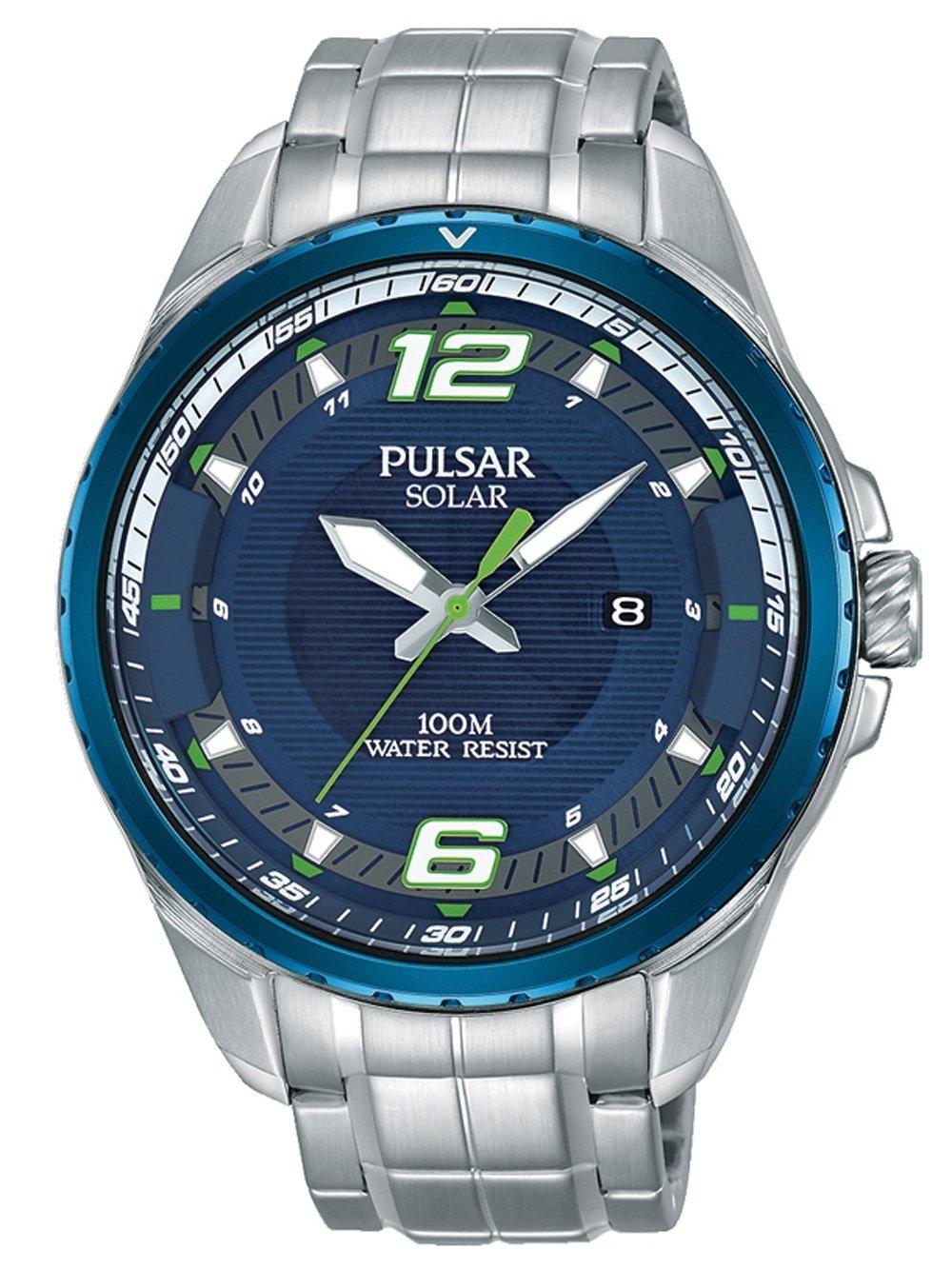Ceas barbatesc Pulsar PX3125X1 Solar 44mm 10ATM