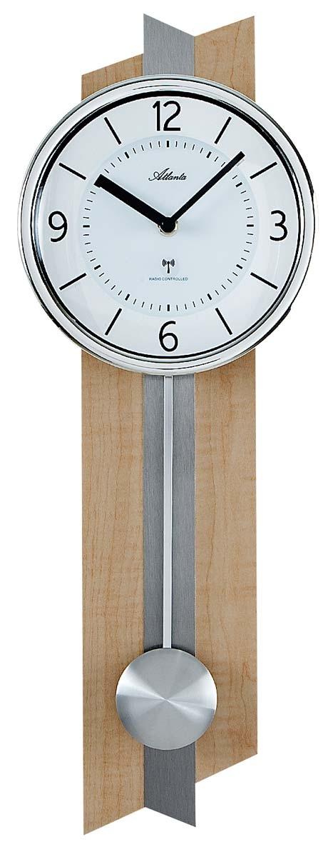 ceas de perete atlanta 5101 radio controlat