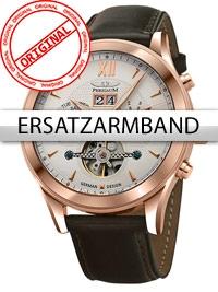 Curea de ceas Perigaum Leder P-1112 braun rose Schliesse 22 mm