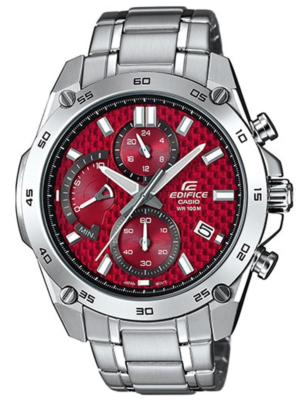 ceas barbatesc casio efv-557d-4avuef edifice chrono. 45mm 10atm