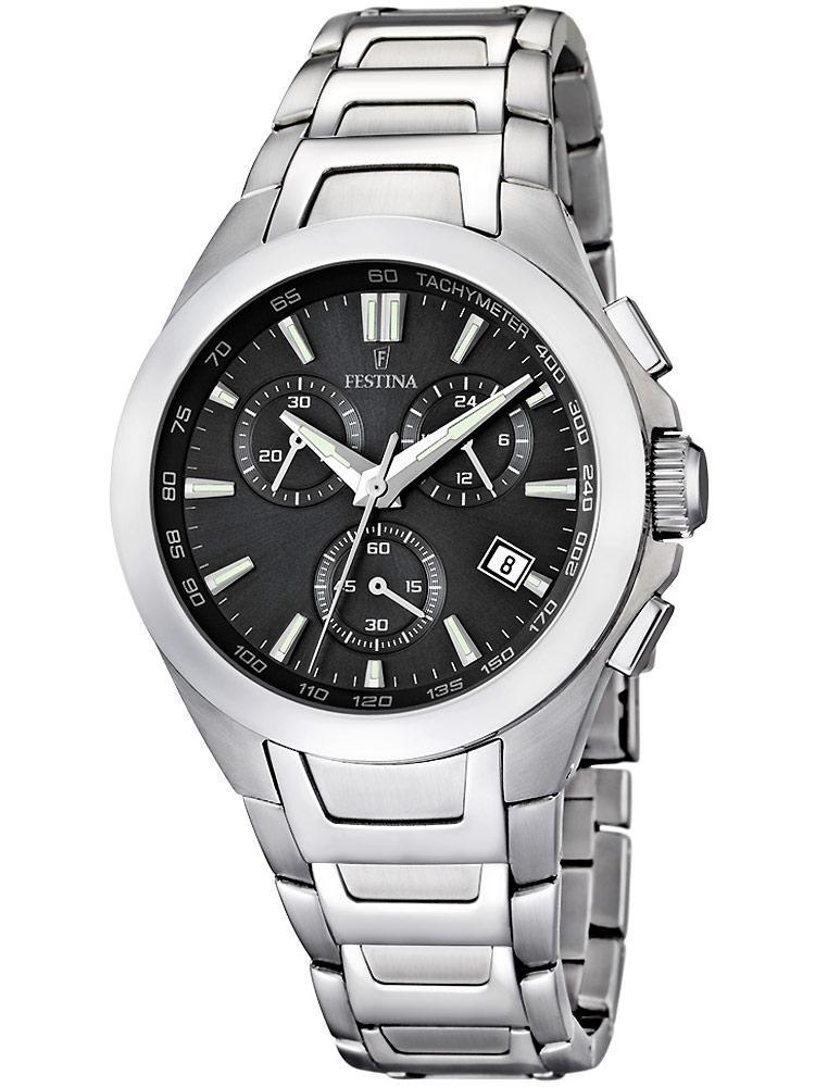 ceas barbatesc festina sport f16678/3 cronograf 42 mm