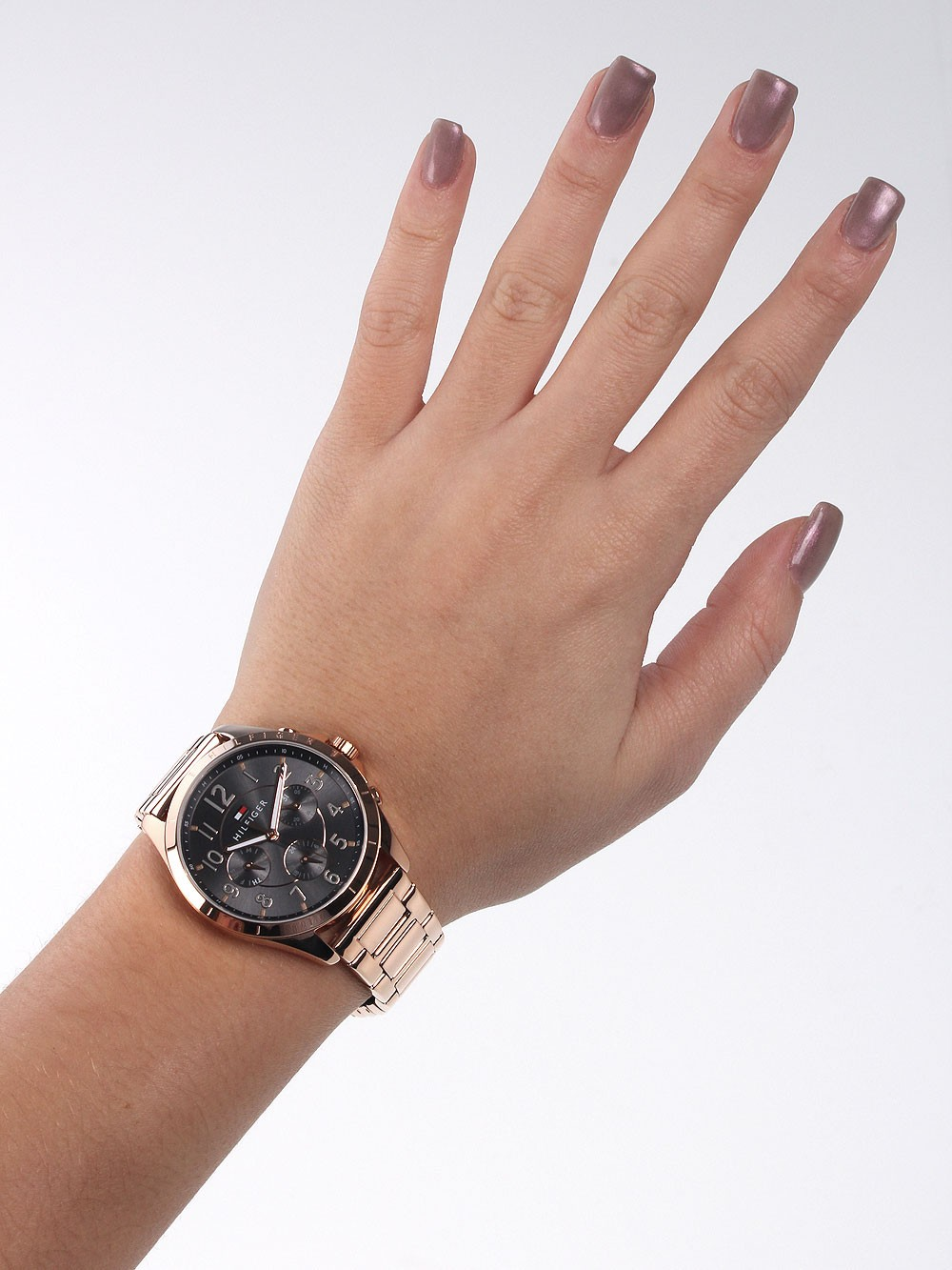 watches chrono12 tommy hilfiger 1781606 damenuhr 36mm 3atm. Black Bedroom Furniture Sets. Home Design Ideas