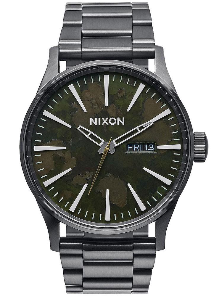 ceas barbatesc nixon a356-2069 sentry ss 42mm 10atm