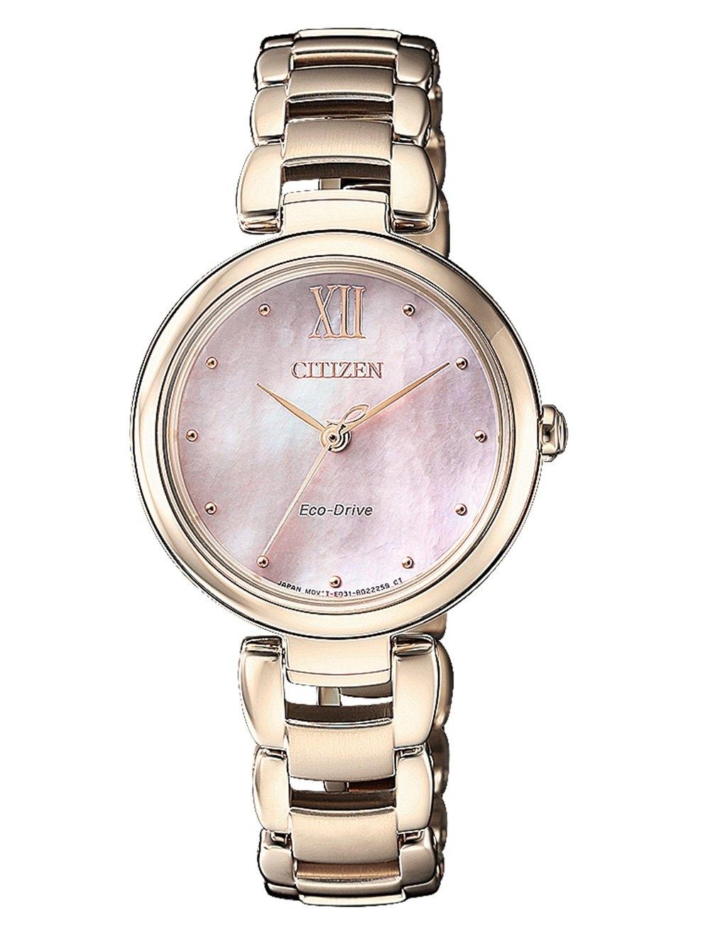 ceas de dama citizen em0533-82y elegance 28mm 5atm