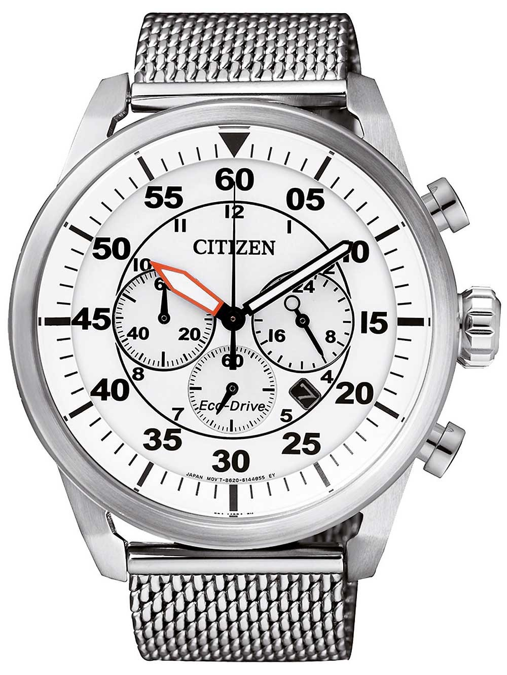 ceas barbatesc citizen ca4210-59a sports-chrono eco-drive 45mm 10atm