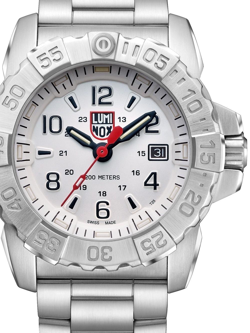 ceas barbatesc luminox xs.3258 navy seal steel 45mm 20atm