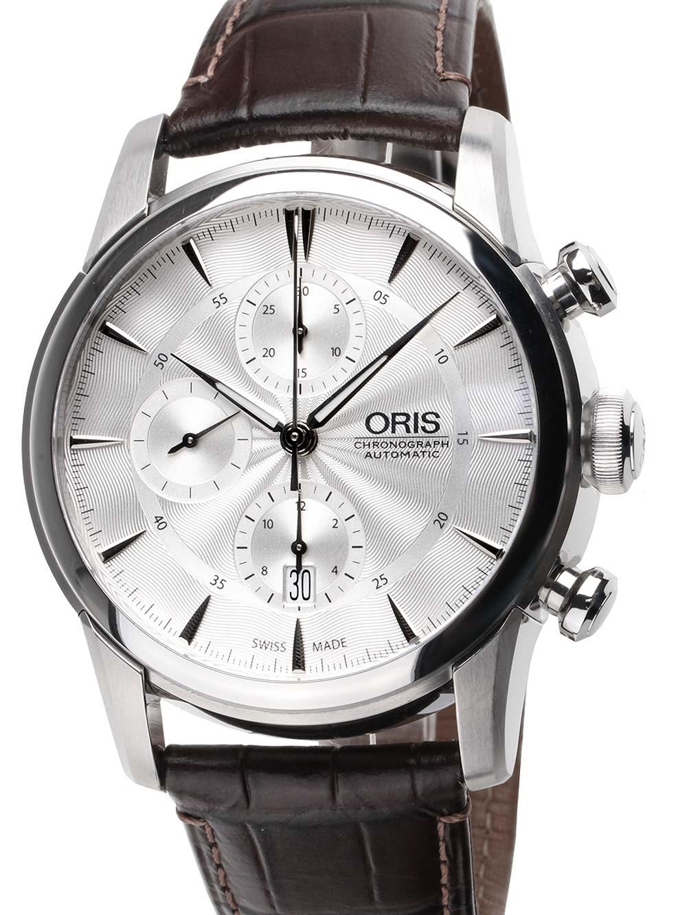 ceas barbatesc oris 0177476864051-0752370fc artelier chronograph 44mm 5atm