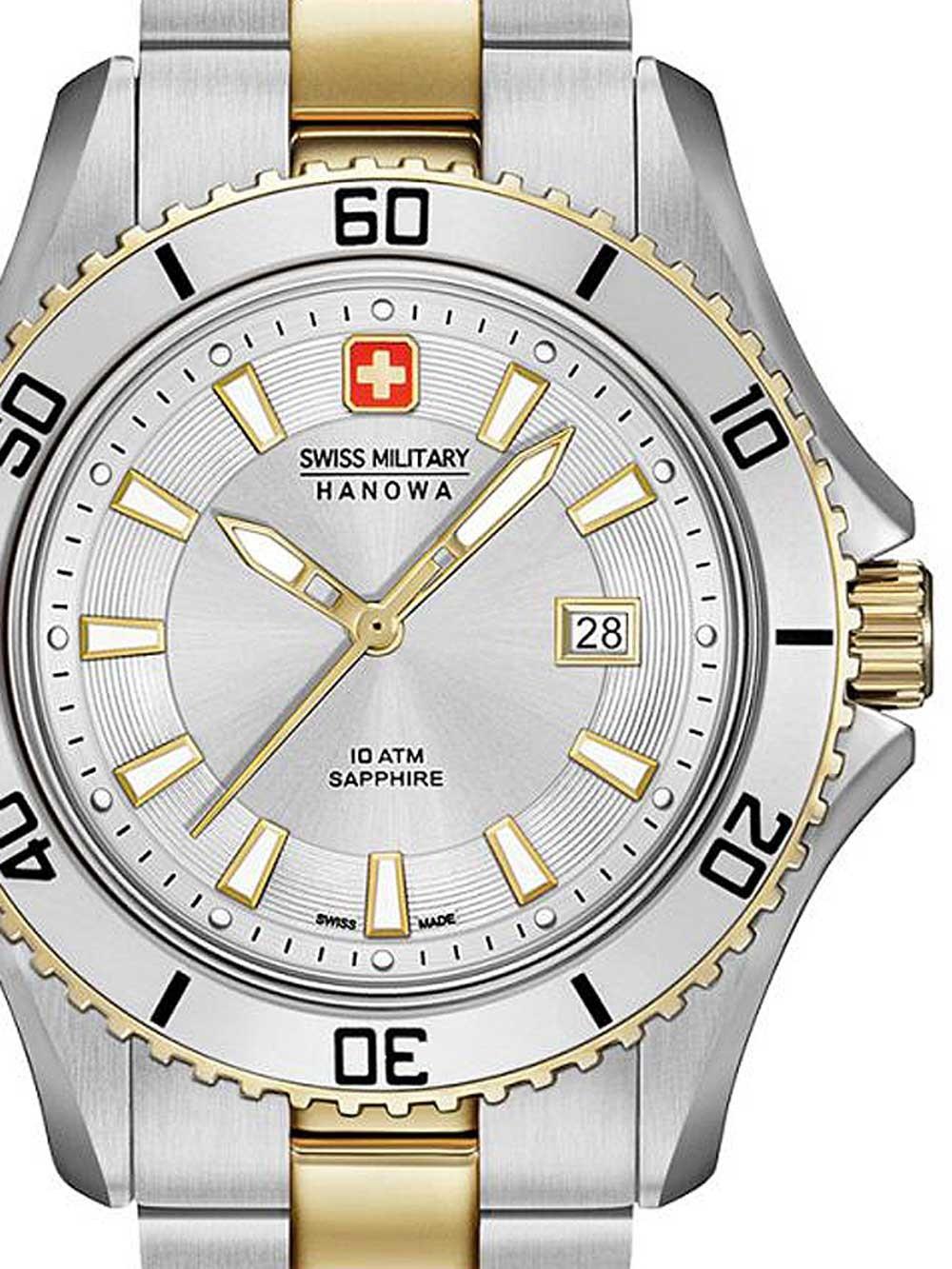 ceas de dama swiss military hanowa 06-7296.55.001 nautila 34mm 10atm