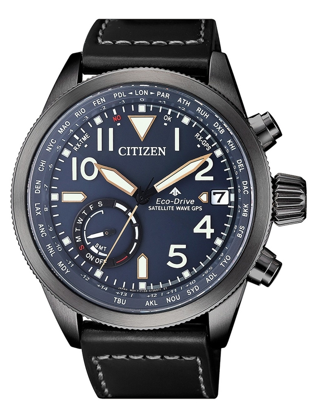 ceas barbatesc citizen cc3067-11l eco-drive promaster satellite-wave gps 44mm 20atm