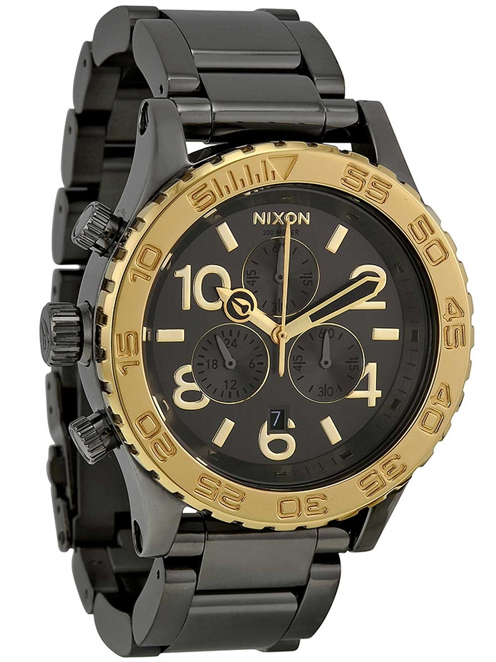 ceas barbatesc nixon a037-1228 chrono 42mm 20atm