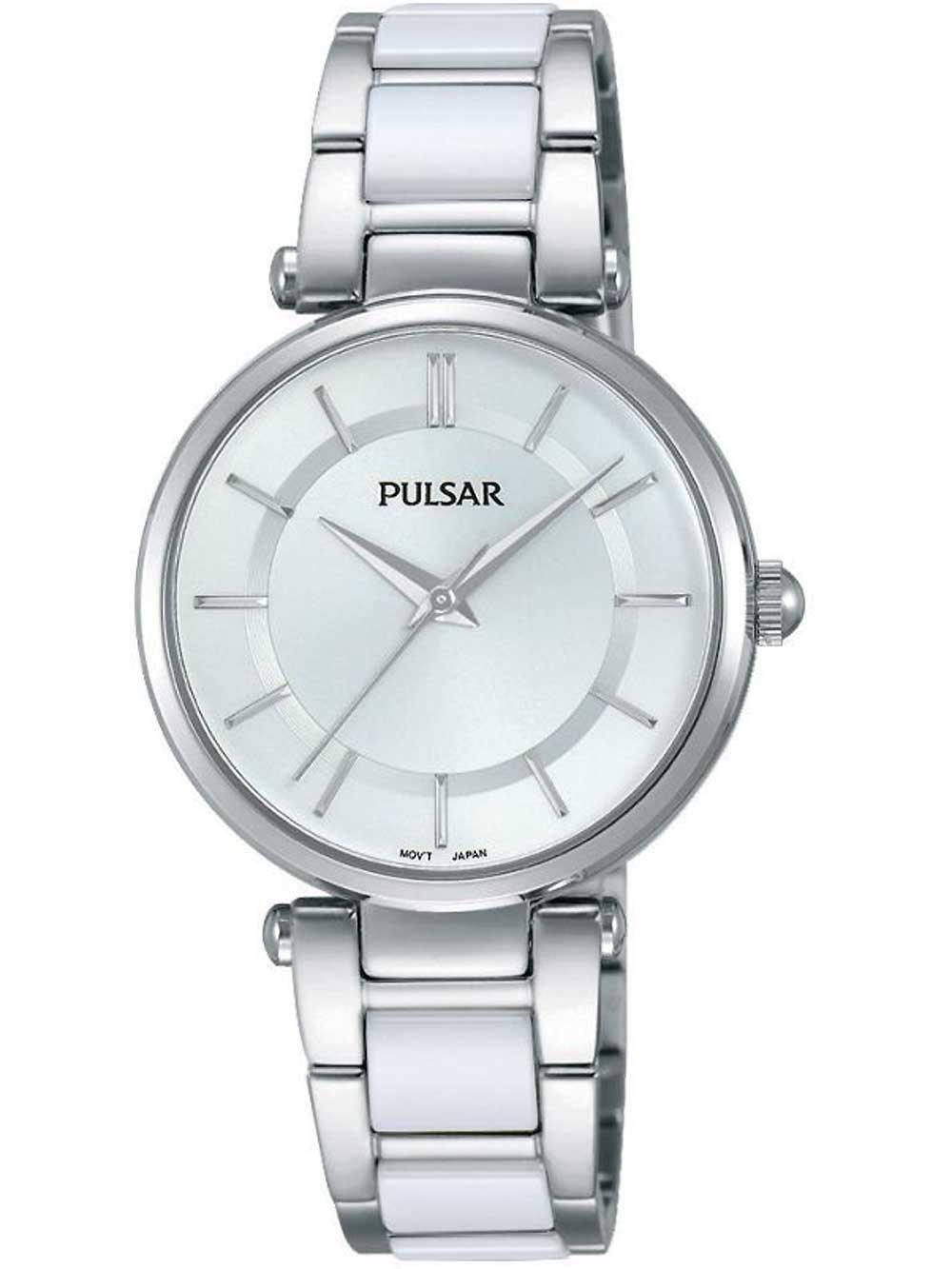 ceas de dama pulsar ph8191x1 ceramic 30mm 3atm