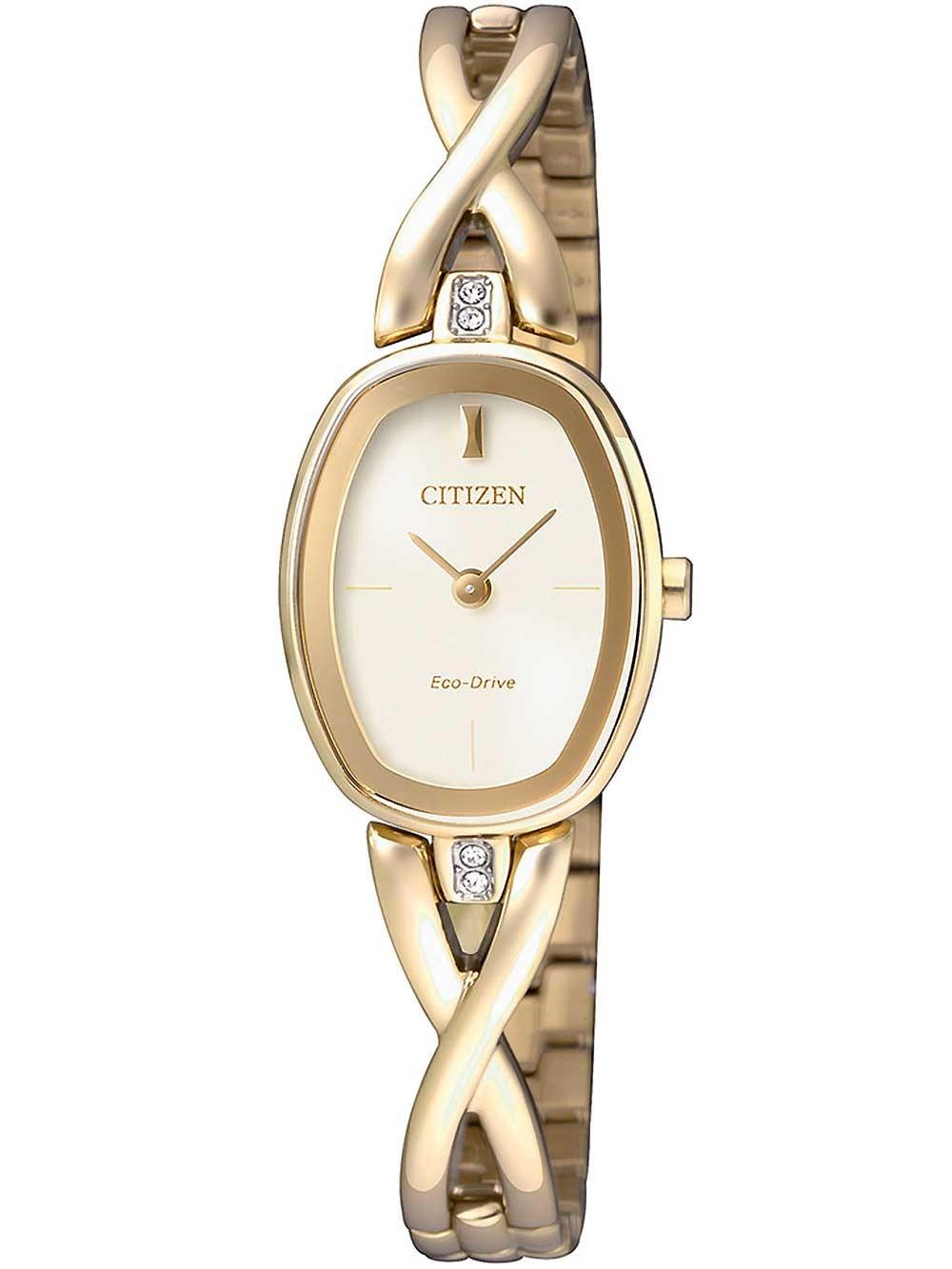 watches chrono12 citizen ex1412 82p elegant eco drive damen 18mm 3atm. Black Bedroom Furniture Sets. Home Design Ideas