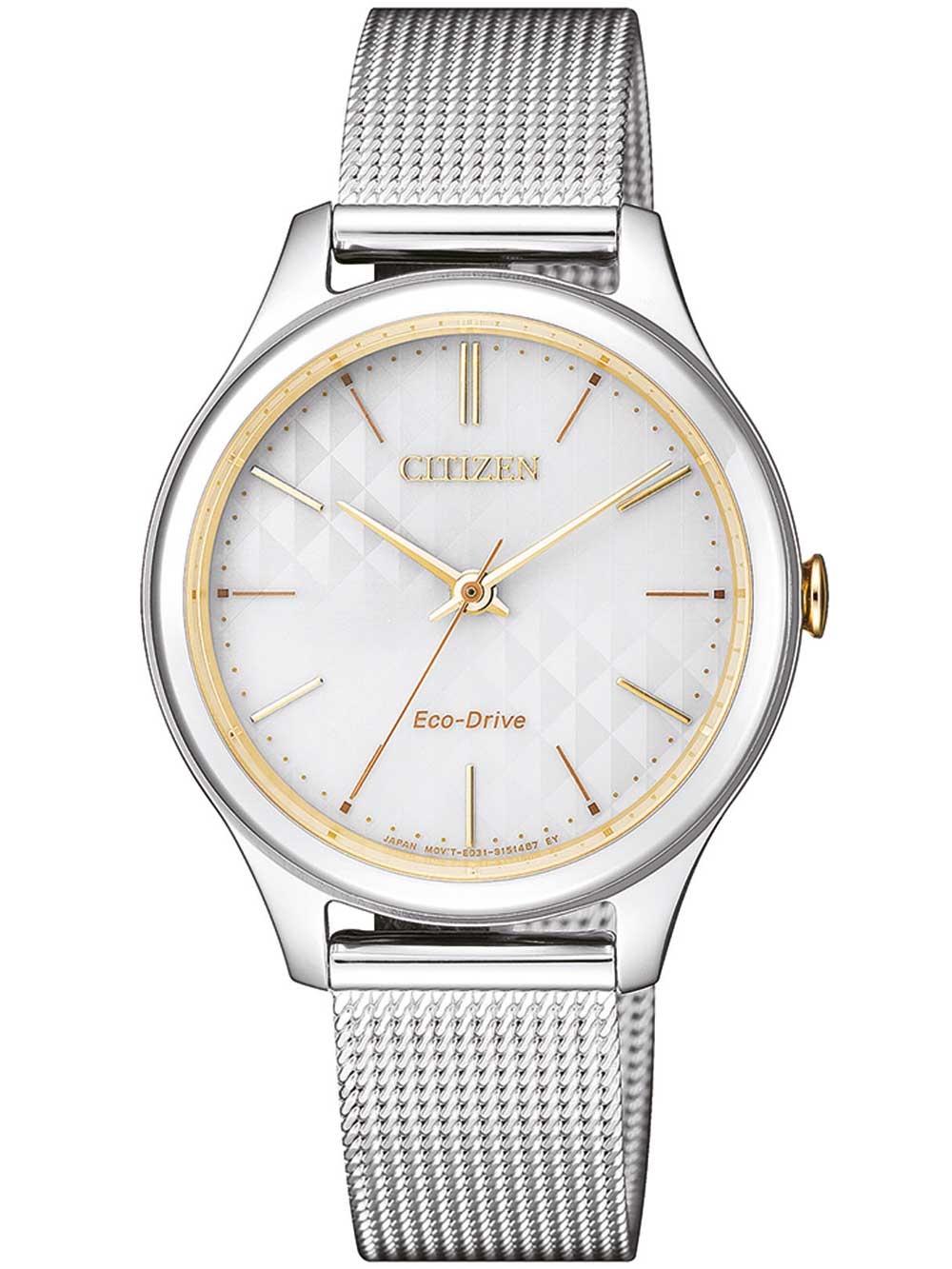 ceas de dama citizen em0504-81a eco-drive elegant 32mm 5atm