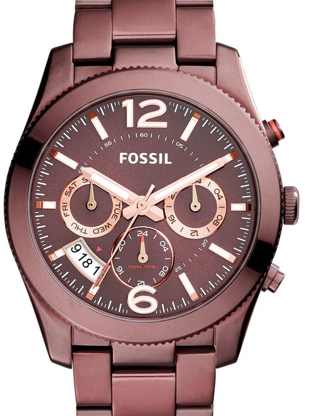 ceas de dama fossil es4110 perfect boyfriend 39mm 5atm